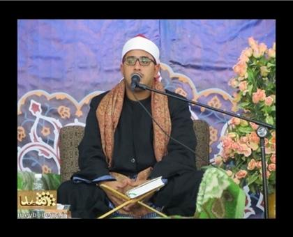 اهدای تلاوت های ناب پدر به رادیو قرآن توسط استاد محمود شحات انور