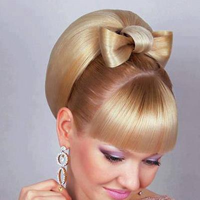 مدل موی زیبای دخترانه برای عروسی