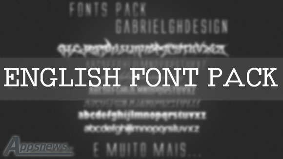English Font Pack