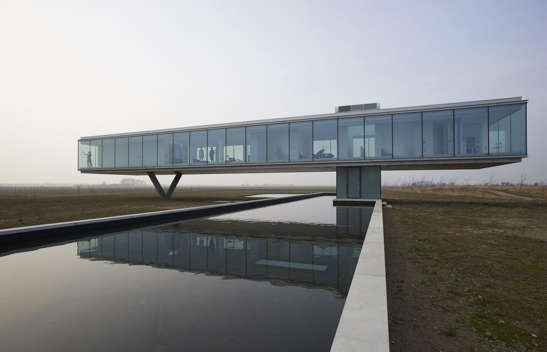 ویلایی با معماری منحصر به فرد