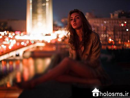 عکس دختر تنها - 6