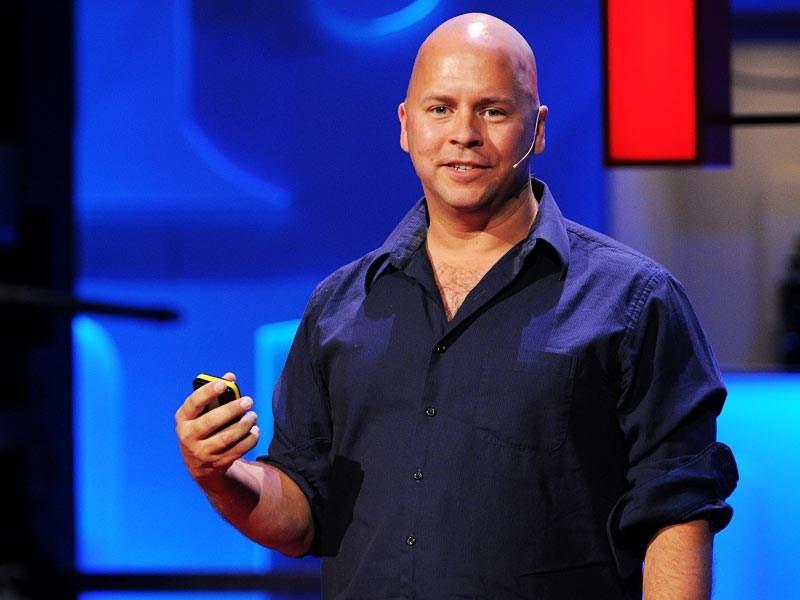 سخنرانی درک سیور در تد