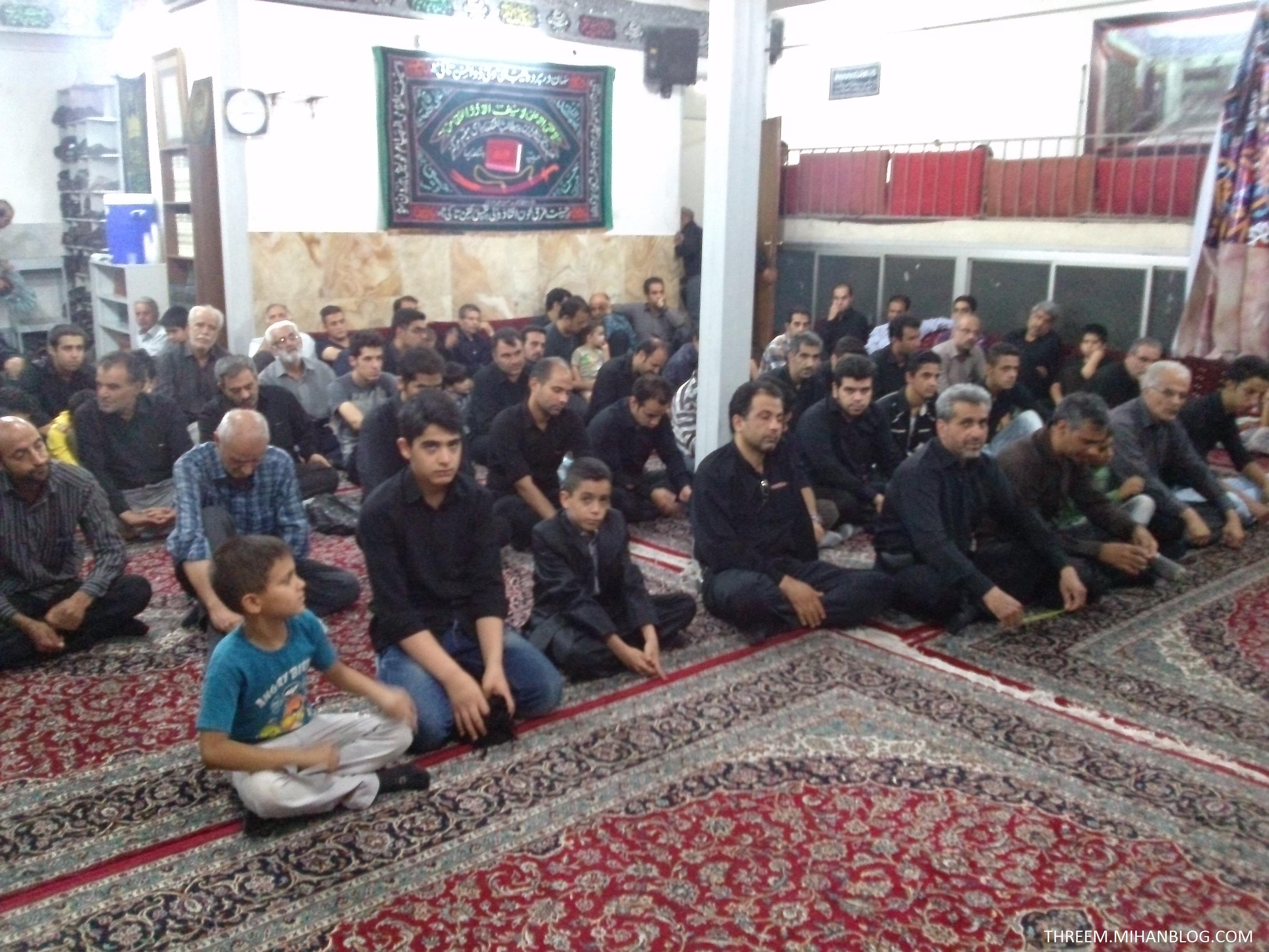 حسینیه اشکذریهای مقیم مرکز