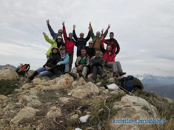 گروه نشاط زندگی - قله اوریم