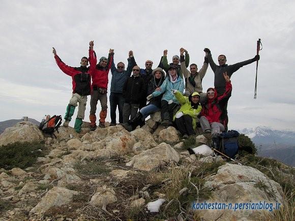 گروه نشاط زندگی - قله اوریم (سنگر)