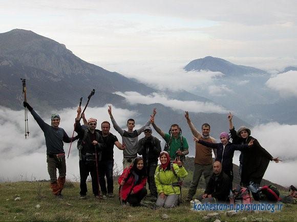 مسیر فرود قله اوریم