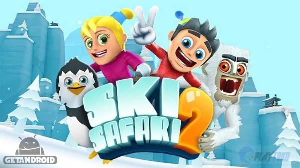 دانلود Ski Safari 2 v1.1.1.0831 – بازی اسکی سافاری 2 اندروید