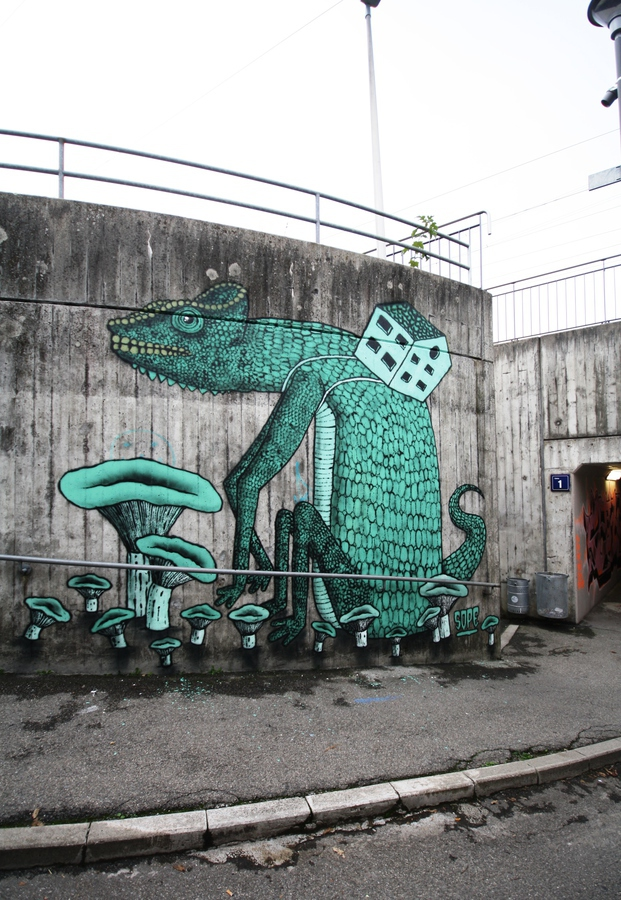 ope798 - fribourg - graffiti  - خیالباف - daydreamer