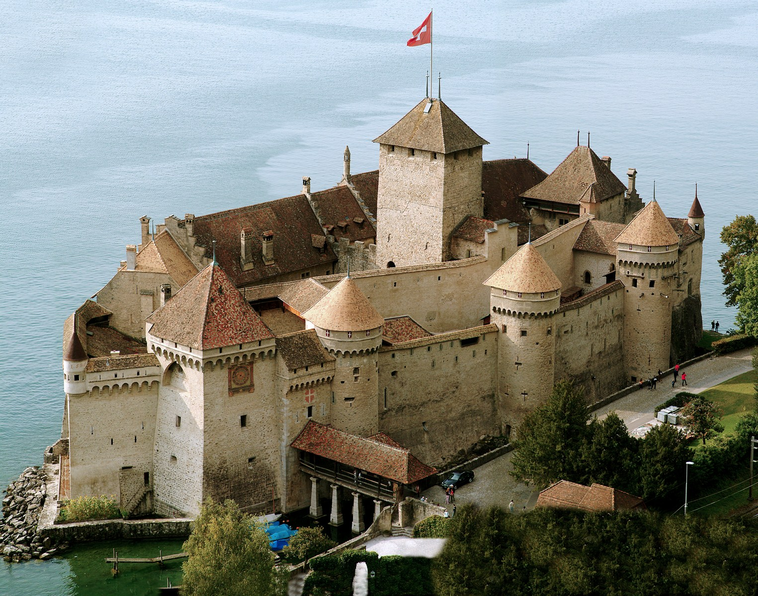Chillon Castle  Switzerland - خیالبافی - Château de Chillon