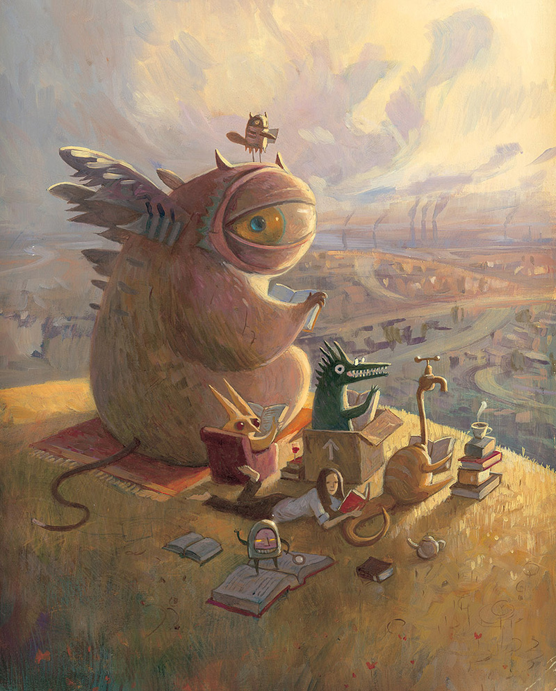 shaun tan -  tales from outer suburbia - daydreamer