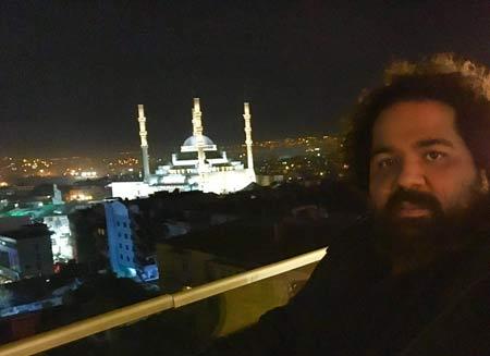 عکس جدید رضا صادقی در ترکیه , دنیای موسیقی