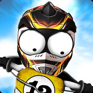 دانلود Stickman Downhill – Motocross 2.1 بازی موتور سواری استیکمن اندروید
