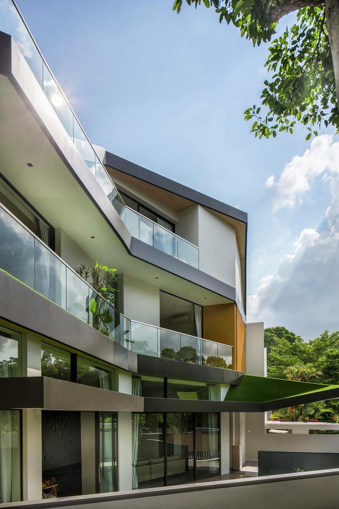 معماری زیبای یک خانه