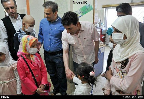 عمو فیتیله ای ها و حمایت از کودکان بیمار