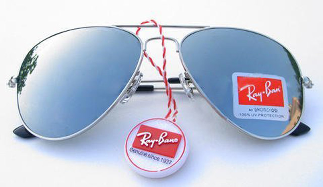 عینک شیشه جیوه ایی طرح ریبن 3025