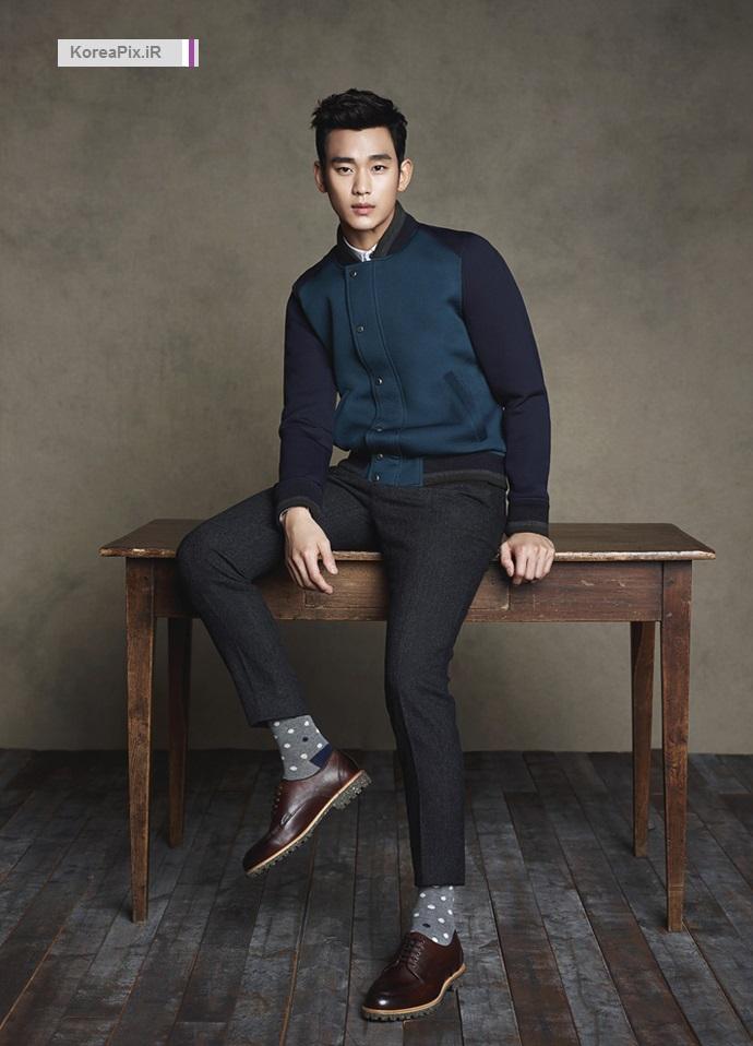 عکس های کیم سو هیون برای کمپانی ZIOZIA