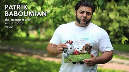 قویترین مرد آلمان یک گیاهخوار آبادانی + عکس , اخبار ورزشی