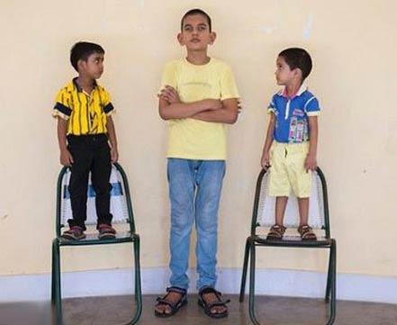 رشد باورنکردنی پسر 5 ساله هندی !! , جالب و خواندنی
