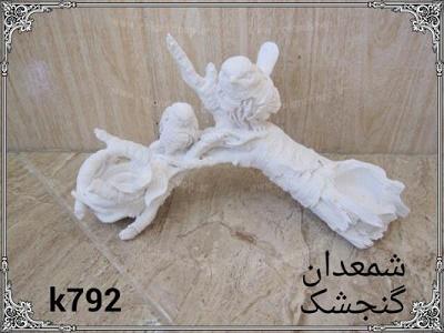 شمعدان گنجشک پلی استر ،  مجسمه پلی استر، تولید مجسمه، مجسمه رزین، مجسمه، رزین، ساخت مجسمه، پلی استر