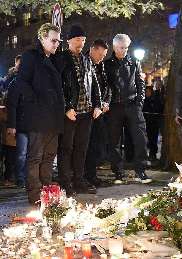 ادای دین گروه مشهور راک و طرفدارنش به فاجعه پاریس , دنیای موسیقی