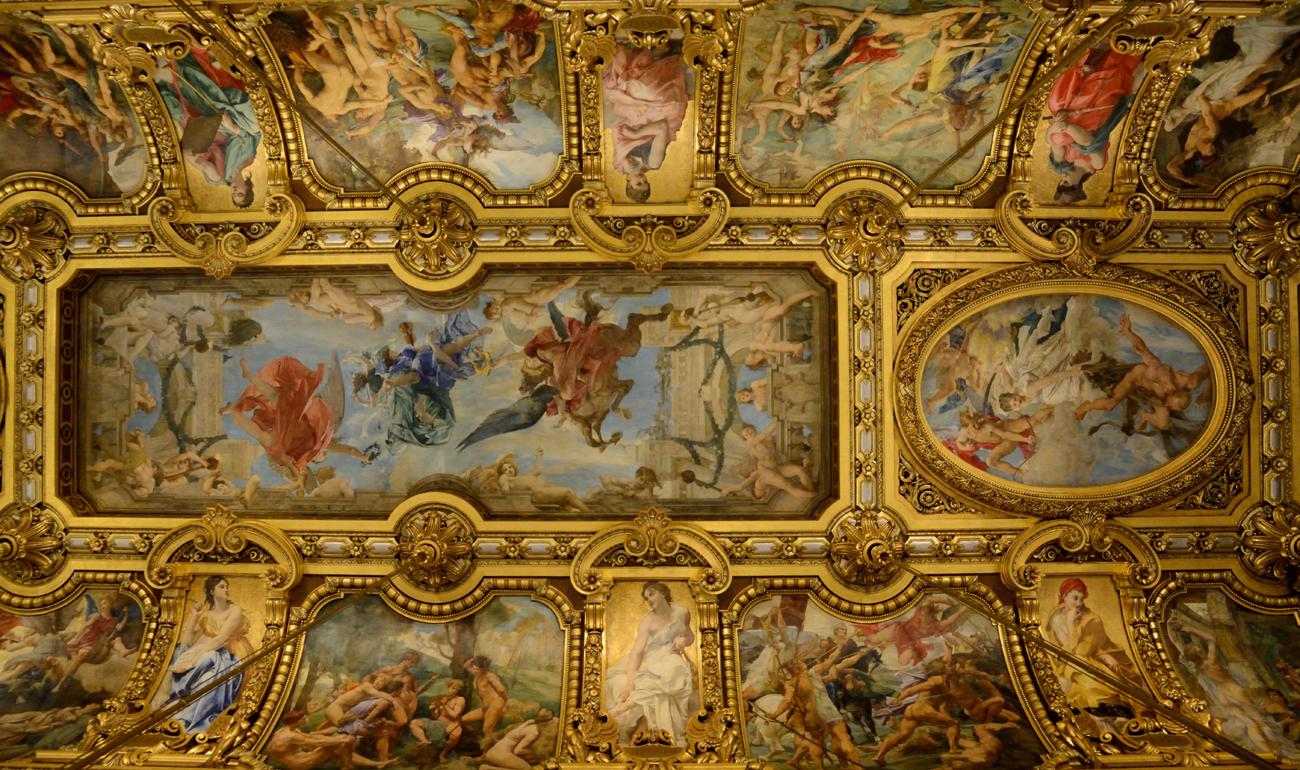 Palais Garnier  Paris - خیالباف- dream - daydreamer