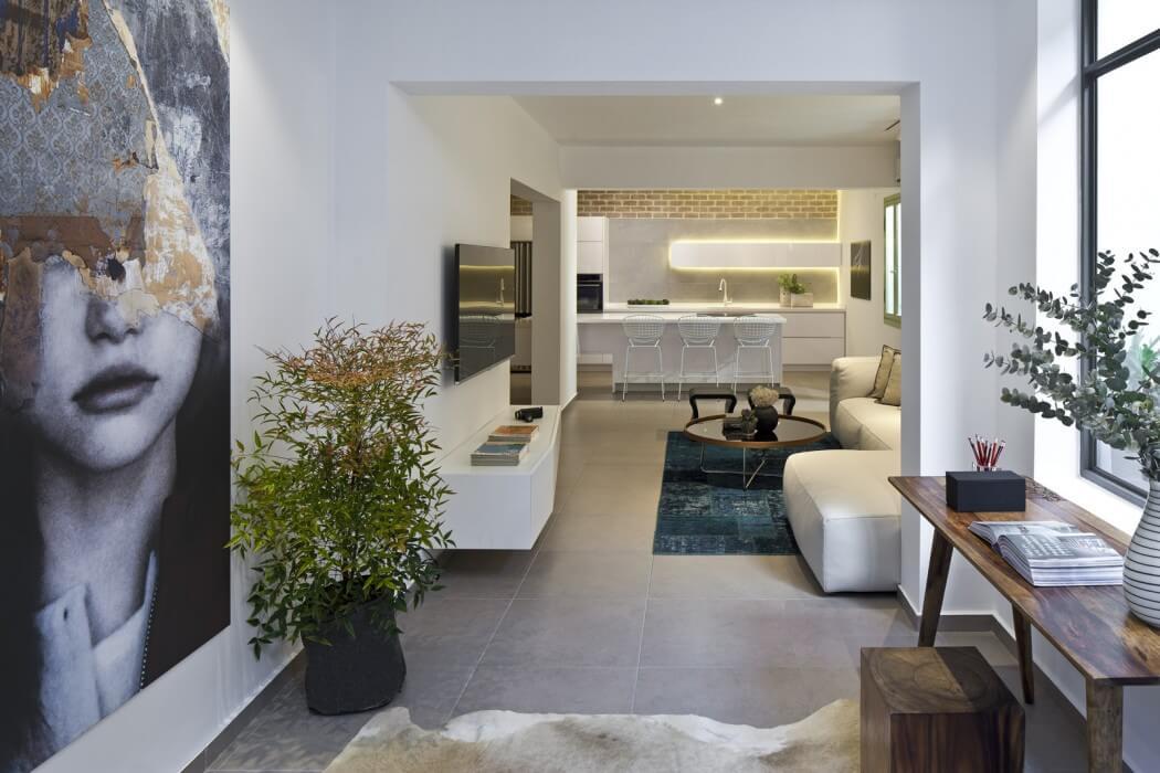 طرح زیبای آپارتمان همراه باغ شهری