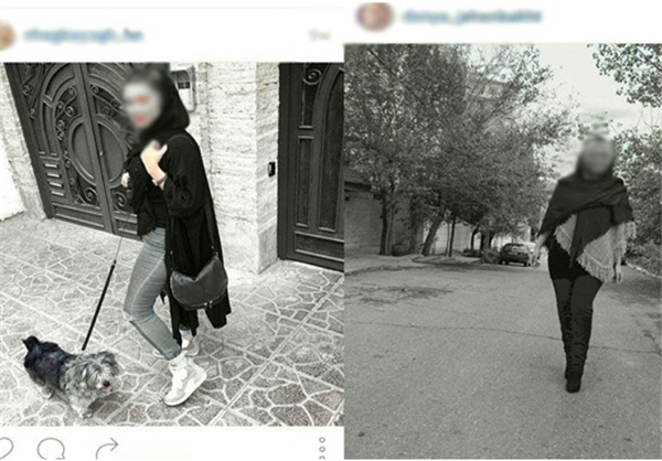 مانور مانکن ها در خیابانهای تهران! + تصاویر , اجتماعی