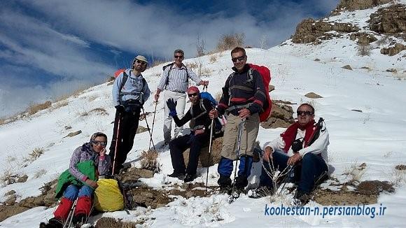 مسیر قله آهنگرک از آهار