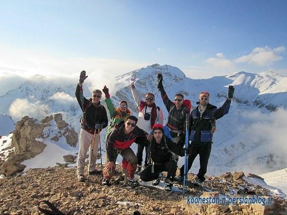 گروه نشاط زندگی - قله آهنگرک