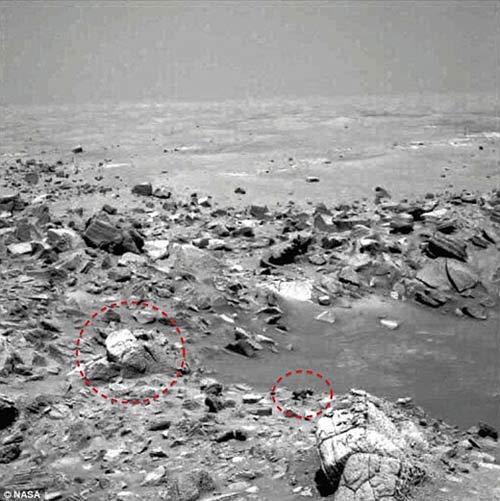 کشف خارق العاده مجسمه خدایان آشوری در مریخ + عکس , جالب وخواندنی
