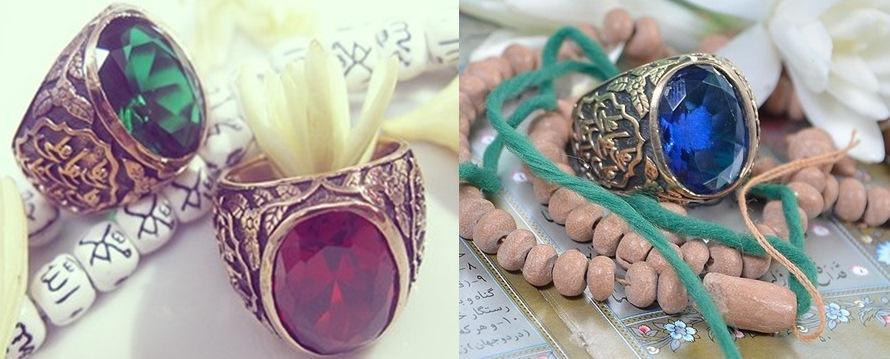 خرید انگشتر مردانه حضرت علی