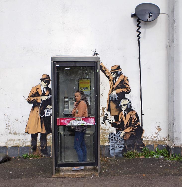 تجربه دیگران - banksy - بنکسی - گرافیتی -