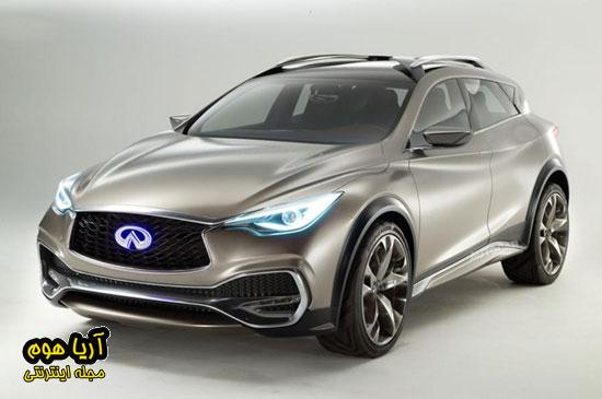 QX30 ، کراس اوور جدید اینفینیتی , اتومبیل ها
