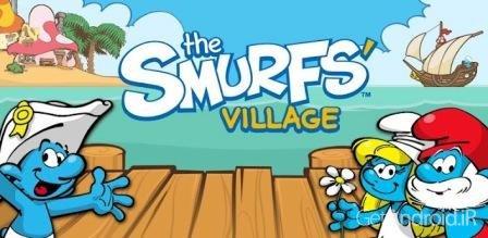 دانلود Smurfs' Village 1.6.7a – بازی دهکده اسمورف ها اندروید + دیتا