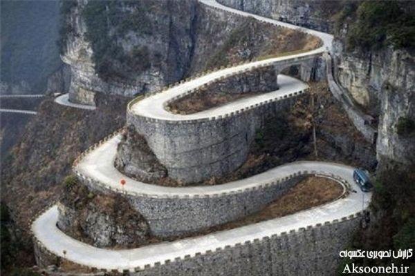 عکسهای زیبا از 10 جاده پرپیچ و خم دنیا