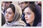 ترانه علیدوستی و پریناز ایزدیار در نشست خبری سریال شهرزاد