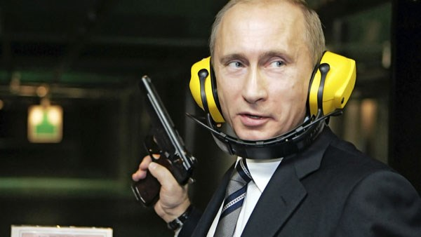 ولادیمیر پوتین ، یک نظامی تمام عیار + عکس , بین الملل