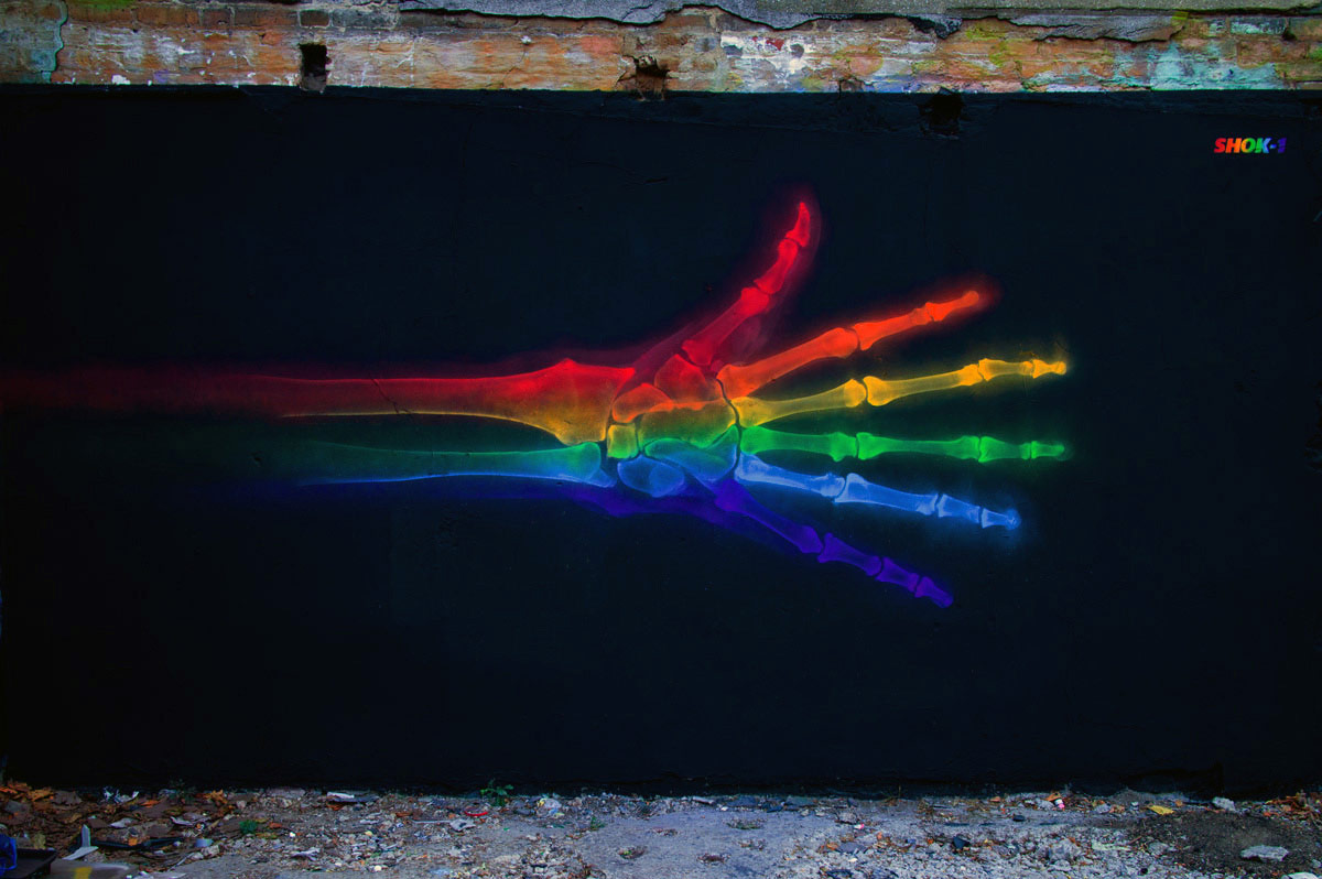 shok-1 'graffiti street-art - daydreamer