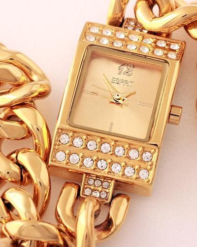 خرید ساعت زنانه نگین دار