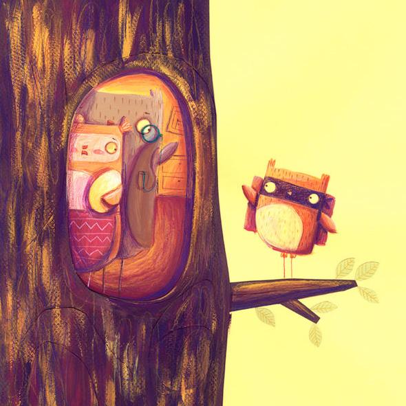 198-monikafilipina illustration - daydreamer -  خیالباف - تصویر سازی