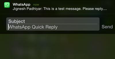 ارسال پاسخ سریع در واتس اپ whats app-ارسال پاسخ سریع-ترفند های واتس اپ-تمام ترفندهای واتس اپ-جدیدترین ترفند های whats app-ترفند ارسال سریع پاسخ در واتس اپ