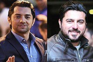 گریم عجیب بهرام رادان و محسن کیایی در یک فیلم , اخبار سینما