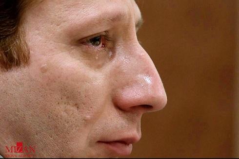اشک های بابک زنجانی در جلسه دادگاه + عکس , اخبار گوناگون