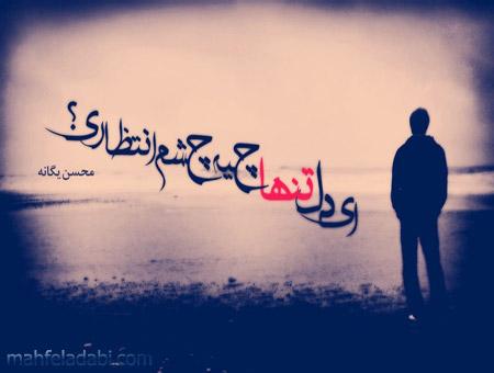 ای دل تنها چیه؟