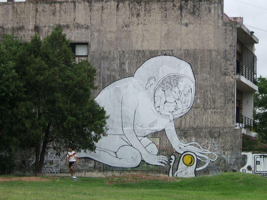 تجربه دیگران - گرافیتی - blu -