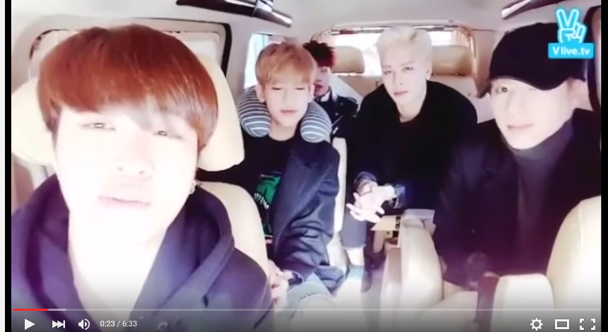 دانلود برنامه  ( Naver V App - GOT7's Delivery Site (minus JB & Junior