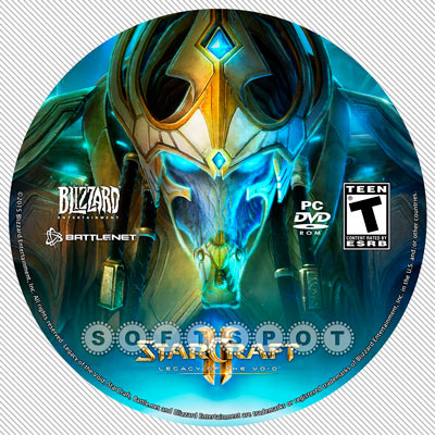 لیبل‌دیسک StarCraft II: Legacy of the Void