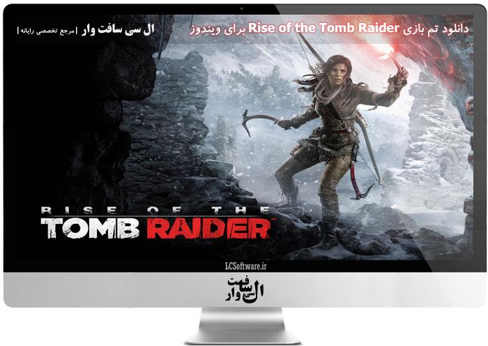 دانلود تم بازی Rise of the Tomb Raider برای ویندوز
