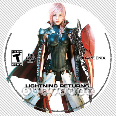 لیبل‌دیسک Lightning Returns: Final Fantasy XIII