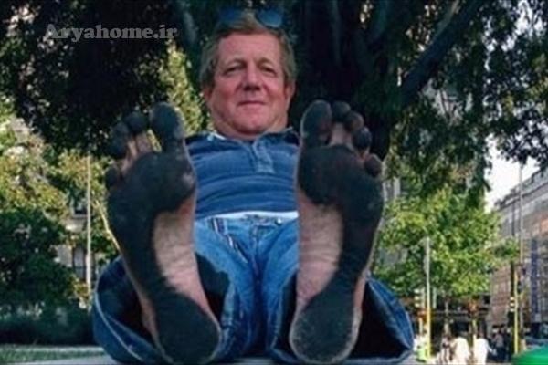مردی که پاهایی مثل کفش دارد!! , جالب وخواندنی